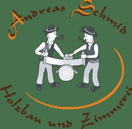 Holzbau und Zimmerei Andreas Schmid - Logo