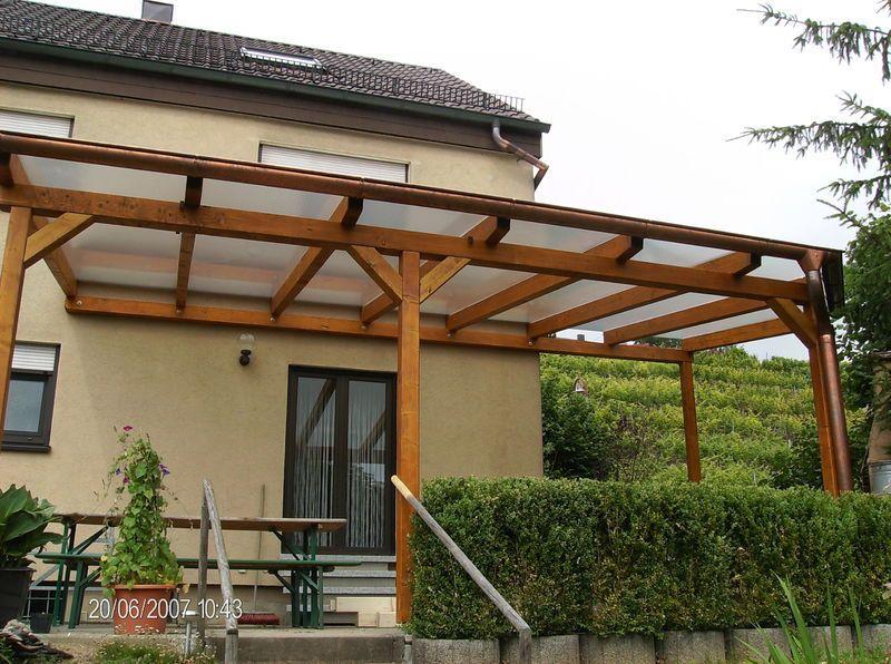 Terrassenüberdachungen Holzbau und Zimmerei │in Hessigheim 74394